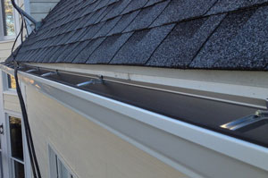 Solid eavestrough,