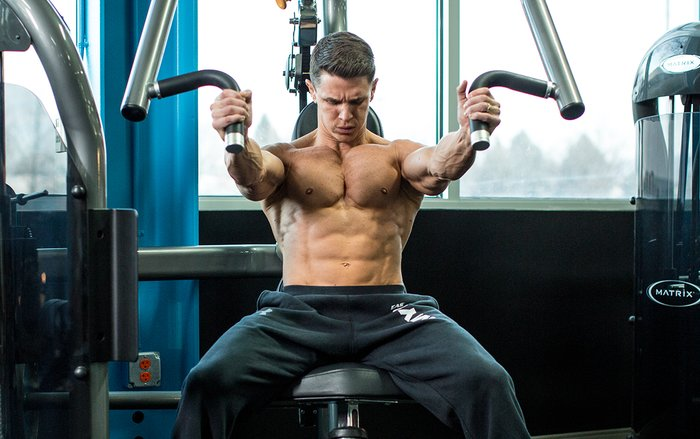 bodybuilding chest muscle