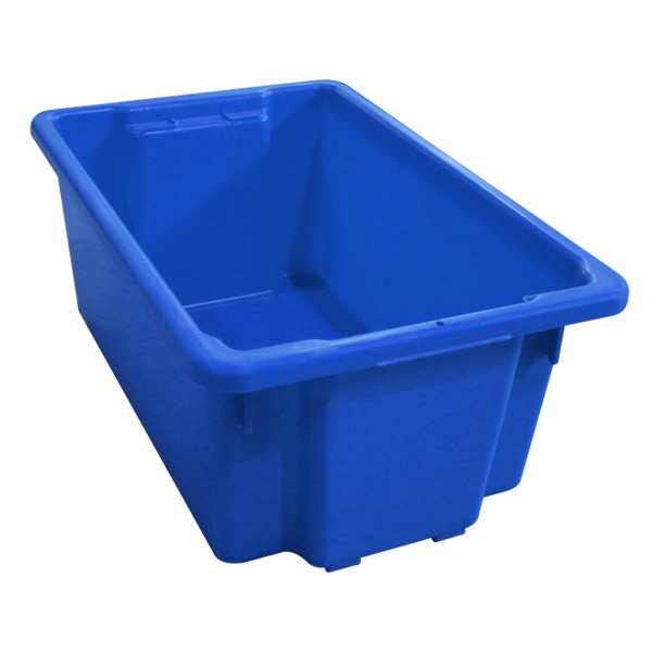 Commercial blue crate